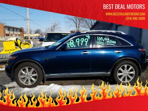 2007 Infiniti FX45 for sale at Best Deal Motors in Saint Charles MO