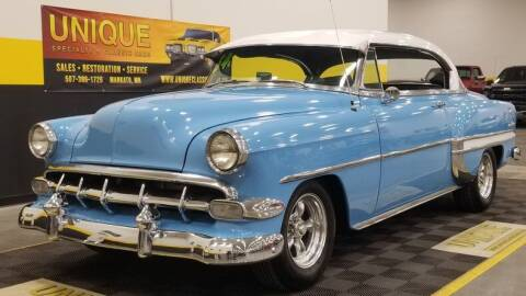 1954 Chevrolet Bel Air for sale at UNIQUE SPECIALTY & CLASSICS in Mankato MN