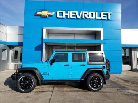 2017 Jeep Wrangler Unlimited for sale at Finley Motors in Finley ND
