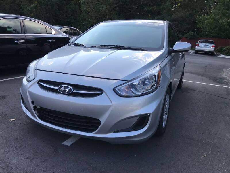 2015 Hyundai Accent for sale at Alfa Auto Sales in Raleigh NC