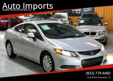 2012 Honda Civic for sale at Auto Imports in Houston TX