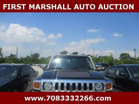 2008 HUMMER H3 for sale at First Marshall Auto Auction in Harvey IL