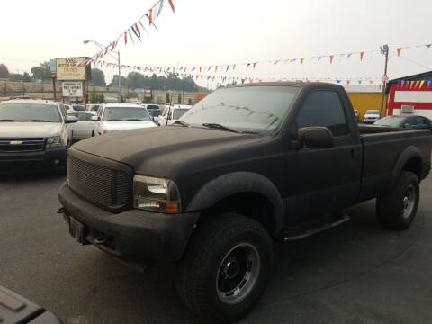 2002 Ford F-250 Super Duty for sale at Boise Motor Sports in Boise ID