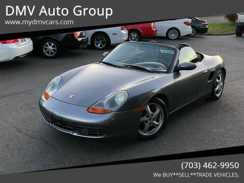 2002 Porsche Boxster for sale at DMV Auto Group in Falls Church VA