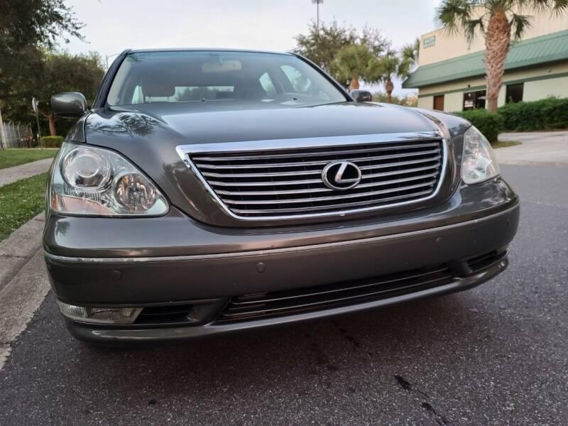 2005 Lexus LS 430 for sale at Monaco Motor Group in Orlando FL