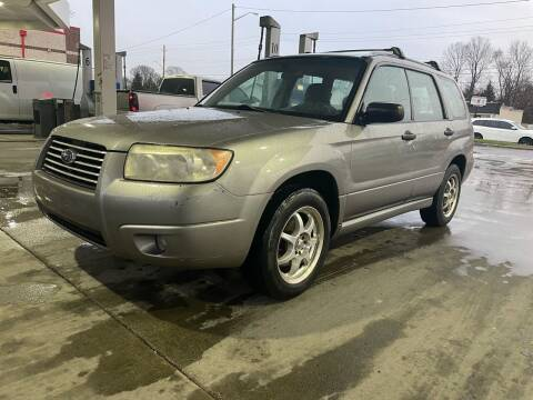 2006 Subaru Forester for sale at JE Auto Sales LLC in Indianapolis IN