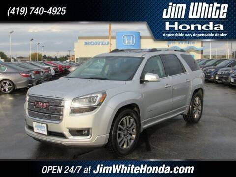 2013 GMC Acadia for sale at The Credit Miracle Network Team at Jim White Honda in Maumee OH