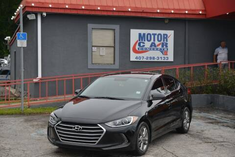 2017 Hyundai Elantra for sale at Motor Car Concepts II - Kirkman Location in Orlando FL