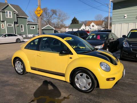 2001 Volkswagen New Beetle for sale at SHEFFIELD MOTORS INC in Kenosha WI