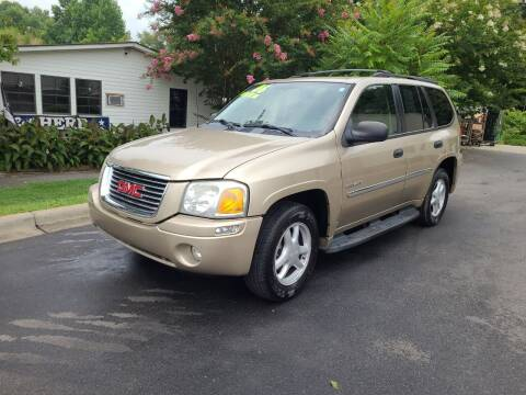 2006 GMC Envoy for sale at TR MOTORS in Gastonia NC