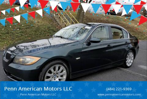 2006 BMW 3 Series for sale at Penn American Motors LLC in Allentown PA