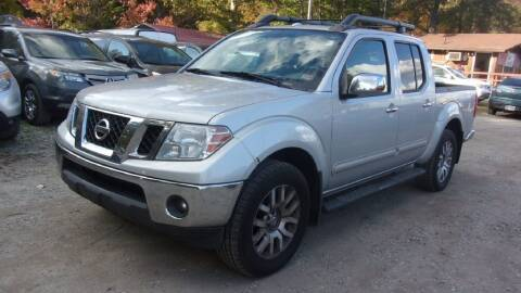 2012 Nissan Frontier for sale at Select Cars Of Thornburg in Fredericksburg VA