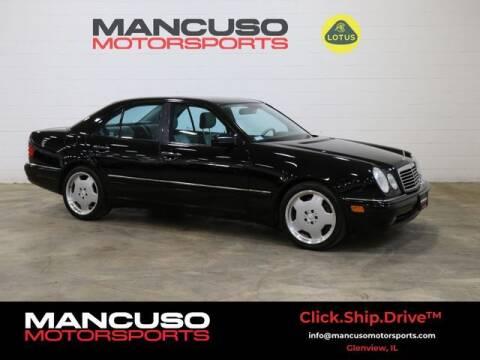 1999 Mercedes-Benz E-Class for sale at Mancuso Motorsports in Glenview IL