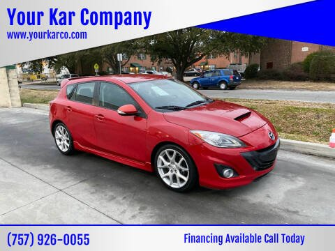 2012 Mazda MAZDASPEED3 for sale at Your Kar Company in Norfolk VA