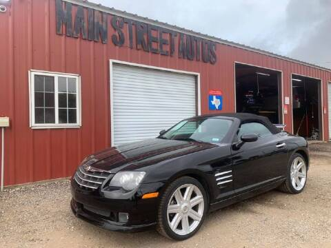 2005 Chrysler Crossfire for sale at Main Street Autos Sales and Service LLC in Whitehouse TX