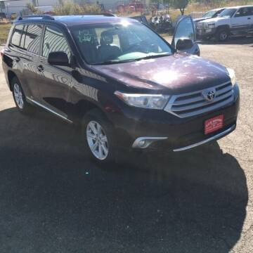 2012 Toyota Highlander for sale at G & B  Motors in Havre MT