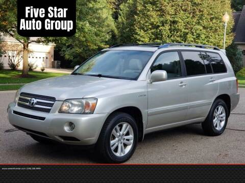 2006 Toyota Highlander Hybrid for sale at Five Star Auto Group in North Canton OH