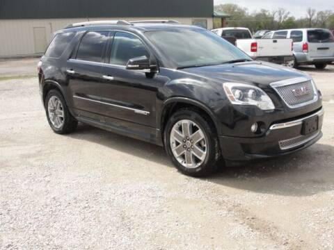 2011 GMC Acadia for sale at Frieling Auto Sales in Manhattan KS