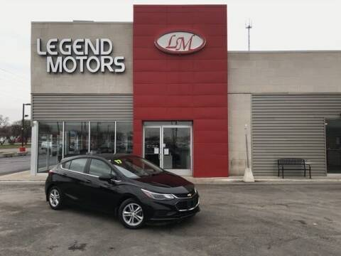 2017 Chevrolet Cruze for sale at Legend Motors of Waterford - Legend Motors of Ferndale in Ferndale MI