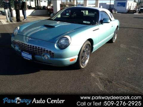 2002 Ford Thunderbird for sale at PARKWAY AUTO CENTER AND RV in Deer Park WA