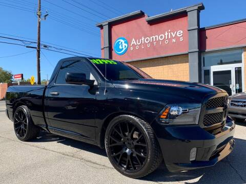 2015 RAM Ram Pickup 1500 for sale at Automotive Solutions in Louisville KY
