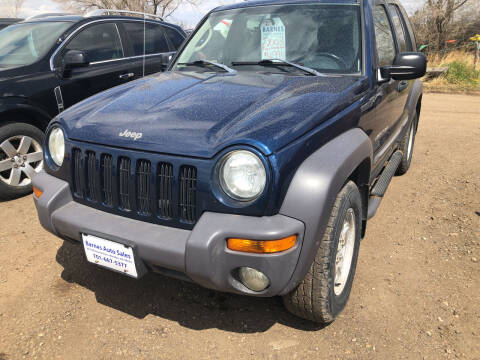 2003 Jeep Liberty for sale at BARNES AUTO SALES in Mandan ND