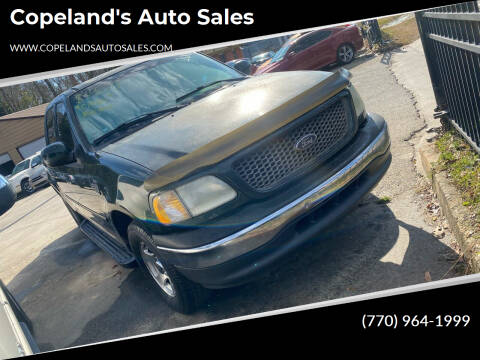 2001 Ford F-150 for sale at Copeland's Auto Sales in Union City GA