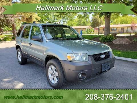 2006 Ford Escape for sale at HALLMARK MOTORS LLC in Boise ID