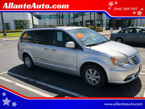 2011 Chrysler Town and Country for sale at AllanteAuto.com in Santa Ana CA