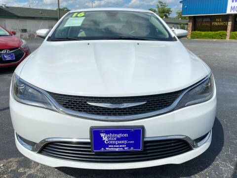 2016 Chrysler 200 for sale at Greenville Motor Company in Greenville NC