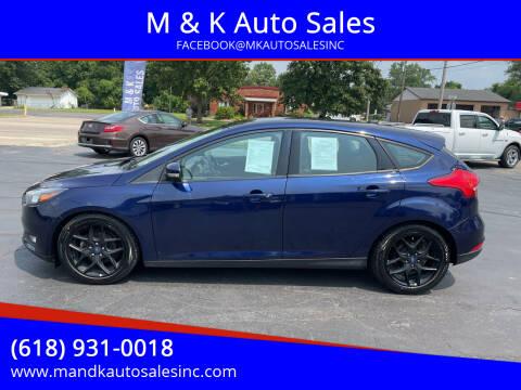 2016 Ford Focus for sale at M & K Auto Sales in Granite City IL