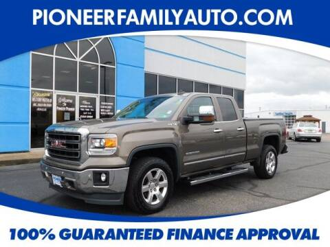 2015 GMC Sierra 1500 for sale at Pioneer Family auto in Marietta OH