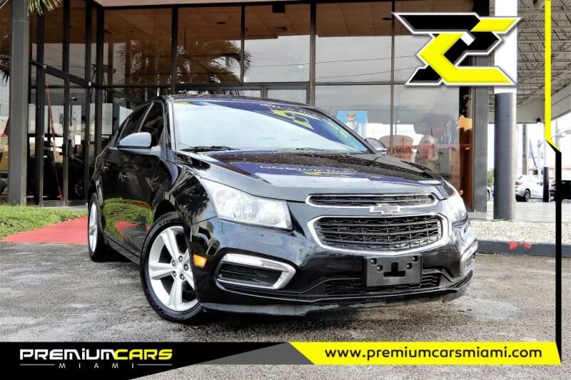 2016 Chevrolet Cruze Limited for sale at Premium Cars of Miami in Miami FL
