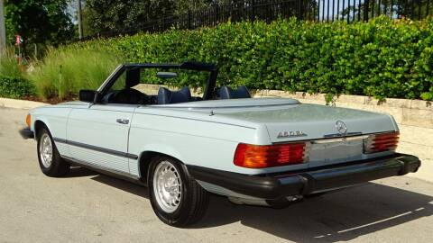 1979 Mercedes-Benz 450 SL for sale at Premier Luxury Cars in Oakland Park FL