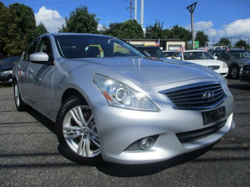 2012 Infiniti G37 Sedan for sale at Unlimited Auto Sales Inc. in Mount Sinai NY