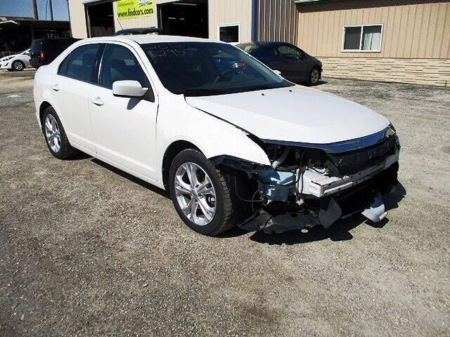2012 Ford Fusion for sale at Northeast Iowa Auto Sales - Repairables in Hazleton IA