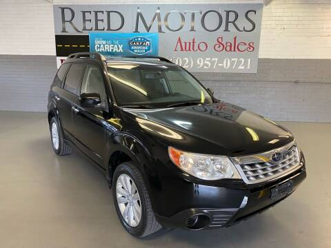 2012 Subaru Forester for sale at REED MOTORS LLC in Phoenix AZ