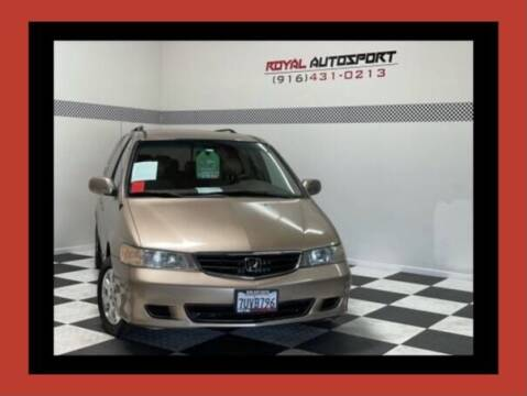 2003 Honda Odyssey for sale at Royal AutoSport in Sacramento CA