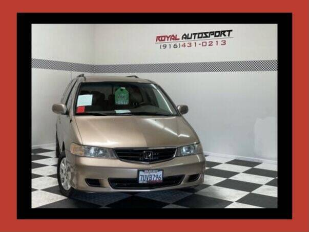 2003 Honda Odyssey for sale at Royal AutoSport in Sacramento CA