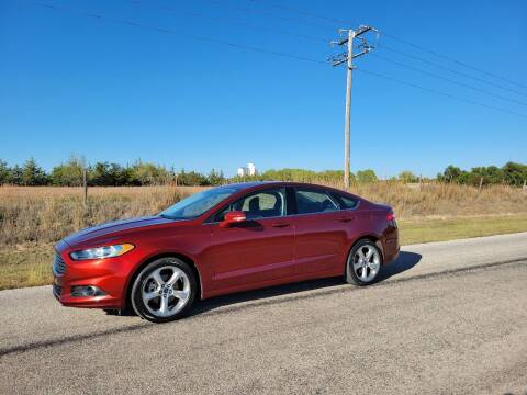 2014 Ford Fusion for sale at TNT Auto in Coldwater KS