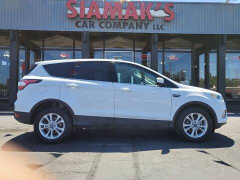 2017 Ford Escape for sale at Siamak's Car Company llc in Salem OR