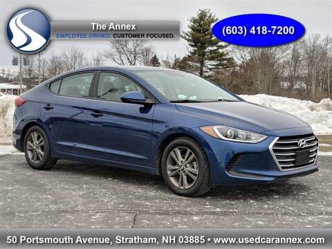 2018 Hyundai Elantra for sale at The Annex in Stratham NH