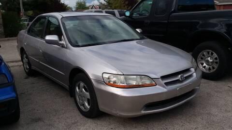 1999 Honda Accord for sale at Fraziers Sturtevant Motors in Sturtevant WI