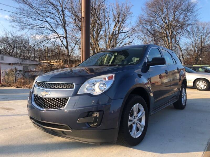 2014 Chevrolet Equinox for sale at Wolff Auto Sales in Clarksville TN
