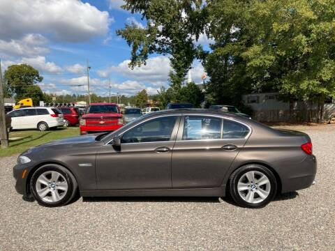 2012 BMW 5 Series for sale at Joye & Company INC, in Augusta GA