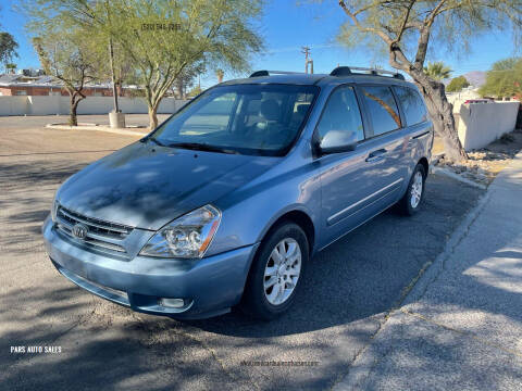 2008 Kia Sedona for sale at PARS AUTO SALES in Tucson AZ