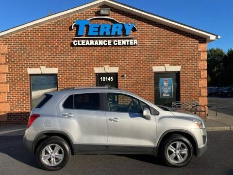 2016 Chevrolet Trax for sale at Terry Clearance Center in Lynchburg VA