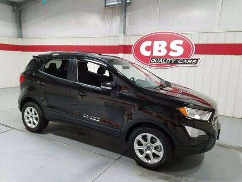2019 Ford EcoSport for sale at CBS Quality Cars in Durham NC