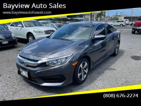 2019 Honda Civic for sale at Bayview Auto Sales in Waipahu HI