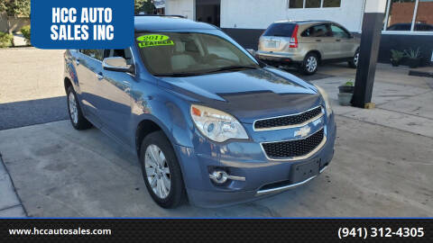 2011 Chevrolet Equinox for sale at HCC AUTO SALES INC in Sarasota FL